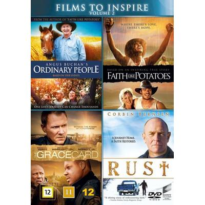 Films to inspire vol 2 - 4 filmer (4DVD) (DVD 2016)