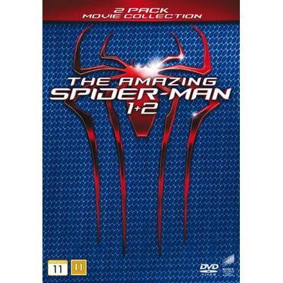 Amazing Spider-Man 1+2 (2DVD) (DVD 2014)
