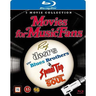 Movies for music fans box - 5 filmer (5Blu-ray) (Blu-Ray 2016)