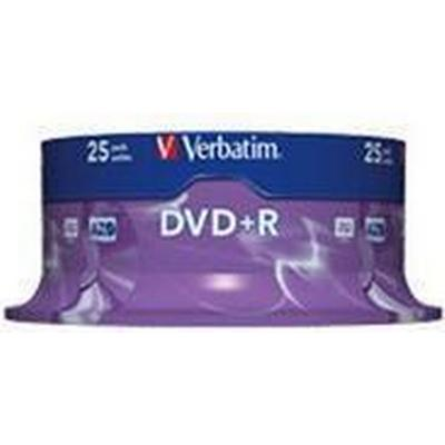 Verbatim DVD+R 4.7GB 16x Spindle 25-Pack