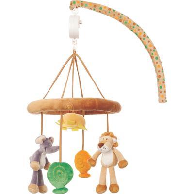 Teddykompaniet Diinglisar Mobil Wild Lejon och Elefant