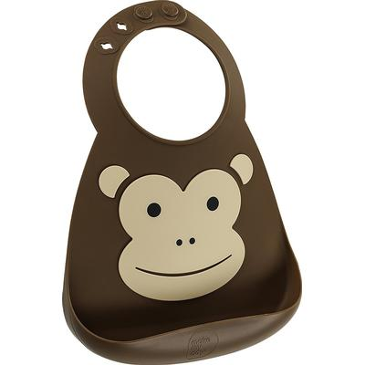 Make My Day Monkey Business Baby Bib