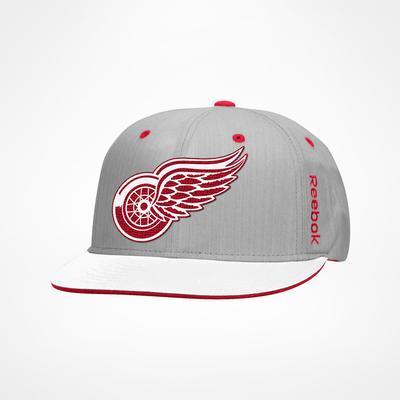 Reebok Detroit Red Wings Center Ice Snapback