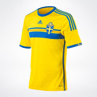 Adidas Sweden Home Jersey 14/15 Youth