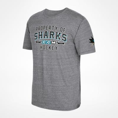 CCM San Jose Sharks Property Block T-Shirt Sr
