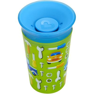 Munchkin Miracle 360° Deco Sippy Cup Green Car 266ml
