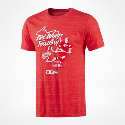CCM Detroit Red Wings Territorial T-Shirt