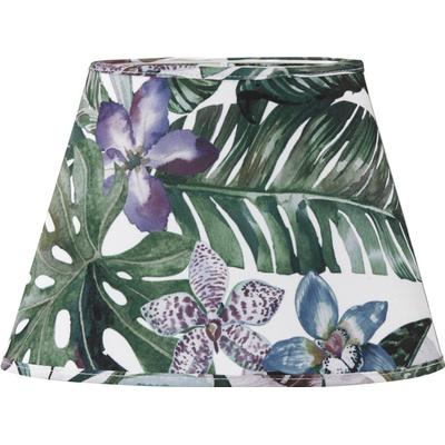 PR Home Oval Jungle Flower 25cm Lampshade Lampdel Endast lampskärm