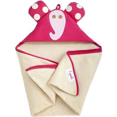 3 Sprouts Elephant Hooded Towel