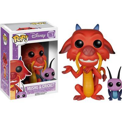 Funko Pop! Disney Mulan Mushu & Cricket