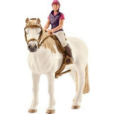 Schleich Recreational Rider with Horse 42359