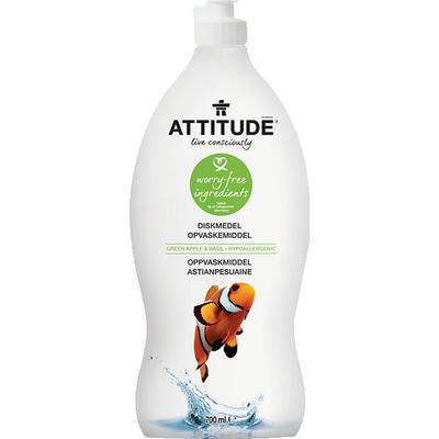 Attitude Green Apple & Basil Dishwashing Liquid 700ml
