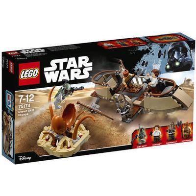 Lego Star Wars Desert Skiff Escape 75174