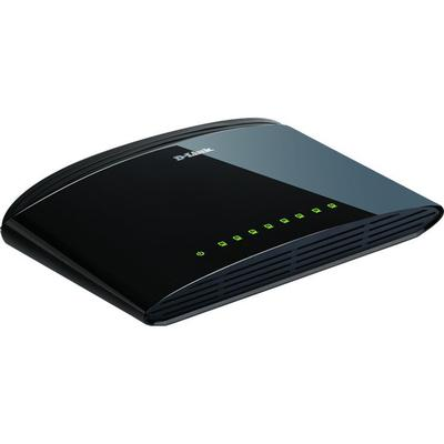 D-Link 8 Port 10/100Mbps Switch (DES-1008D/E)