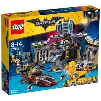 Lego The Batman Movie Batcave Break-in 70909