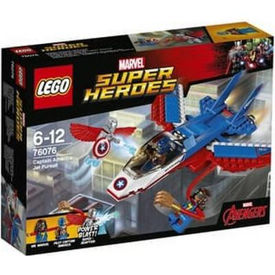 Lego Marvel Superheroes Captain America Jet Pursuit 76076