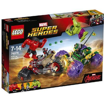 Lego Marvel Superheroes Hulk mod Red Hulk 76078