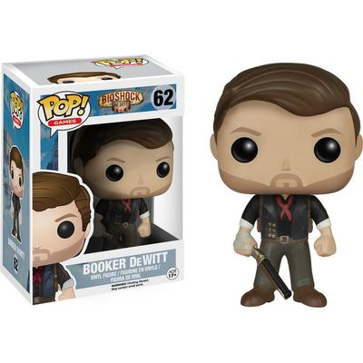 Funko Pop! Games Bioshock Booker DeWitt
