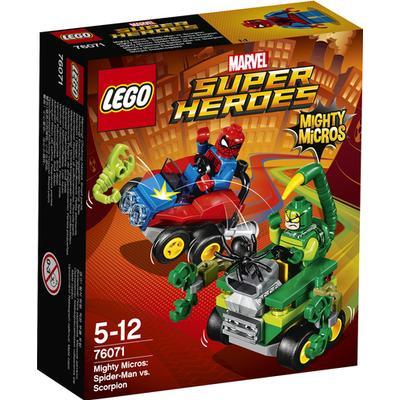 Lego Marvel Super Heroes Mighty Micros Spider Man vs Scorpion 76071