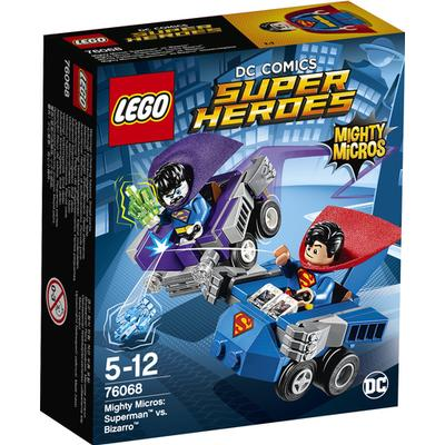 Lego Marvel Super Heroes Mighty Micros Superman vs Bizarro 76068