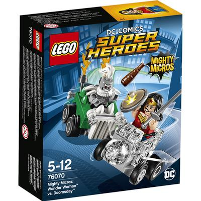 Lego DC Comics Super Heroes Mighty Micros Wonder Woman vs Doomsday 76070