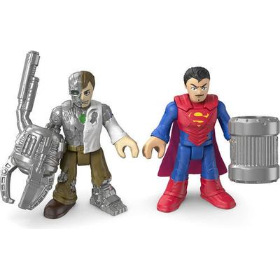 Fisher Price Imaginext DC Super Friends Superman & Metallo