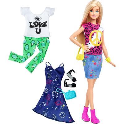 Mattel Barbie Fashionistas 35 Peace & Love Fashions Original Doll