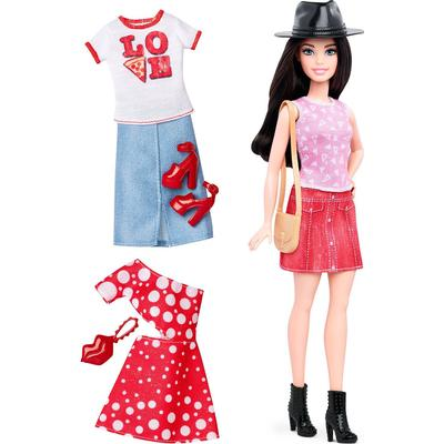 Mattel Barbie Fashionistas 40 Pizza Pizzazz & Fashions Petite Doll