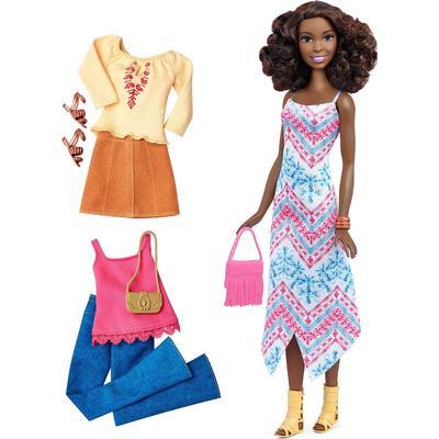 Mattel Barbie Fashionistas 45 Boho Fringe & Fashions Tall Doll