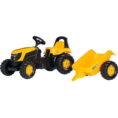 Rolly Toys Rolly Kid JCB Tractor & Trailer