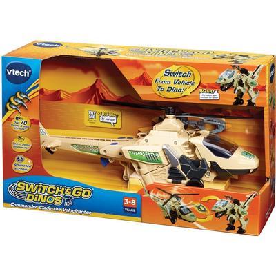 Vtech Switch & Go Dinos Commander Clade the Velociraptor