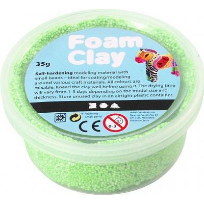 Foam Clay Neon Green Clay 35g