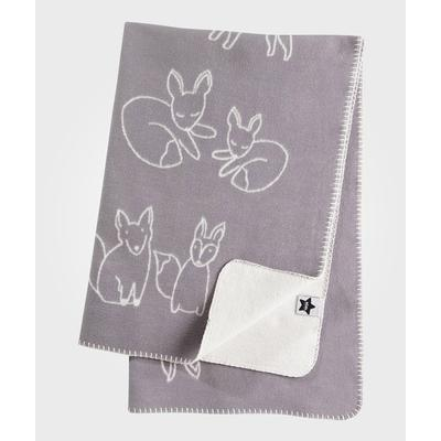 Kids Concept Edvin Jacquard Knit Baby Baby Blanket