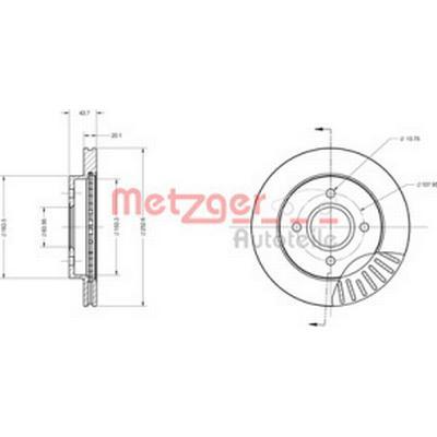 Metzger 6110157