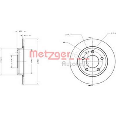 Metzger 6110131