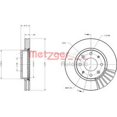 Metzger 6110467