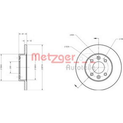 Metzger 6110034