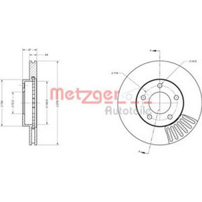 Metzger 6110421
