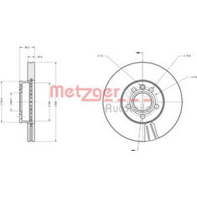 Metzger 6110178