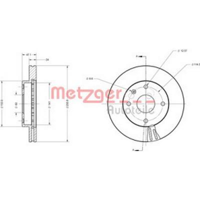 Metzger 6110525