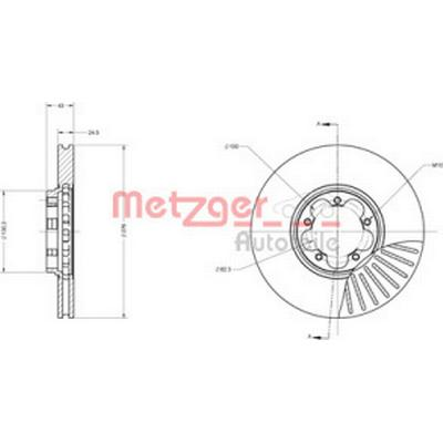 Metzger 6110314