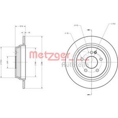 Metzger 6110126