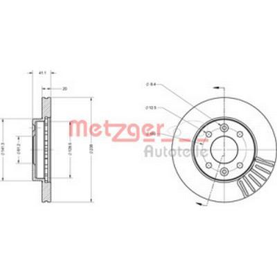 Metzger 6110071
