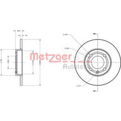 Metzger 6110137