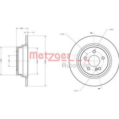 Metzger 6110274