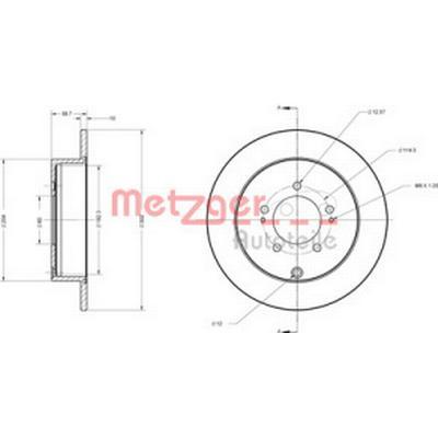 Metzger 6110197