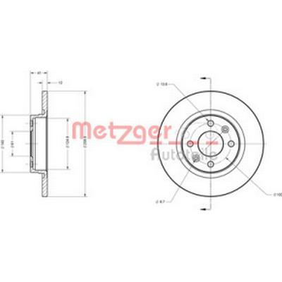 Metzger 6110170