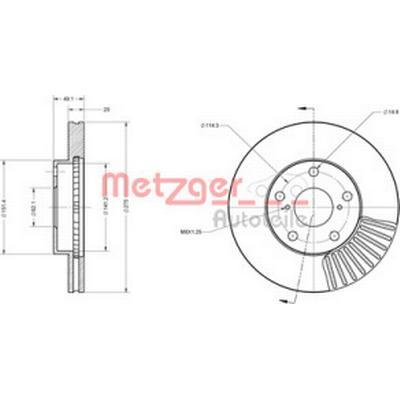 Metzger 6110282
