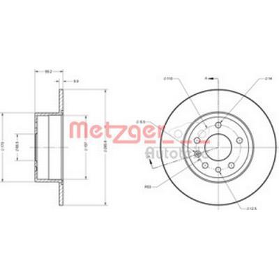 Metzger 6110289