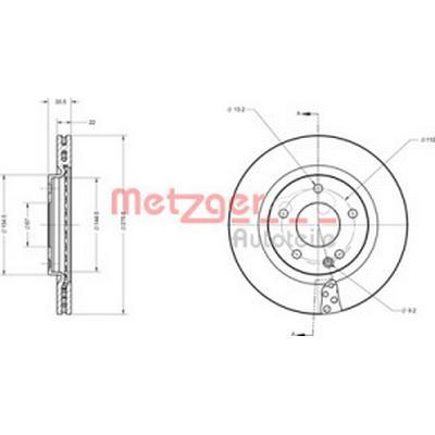 Metzger 6110479